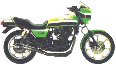 750 CC Kawasaki K Z 750 E1 1980 - Rear Brake Light Switch